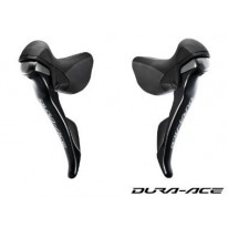 STI LEVER SET DURA-ACE-9000 2SP/11SP  WIRED CARBON