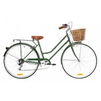 REID VINTAGE 7 SPEED CLASSIC PLUS - OLIVE