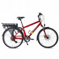 SMART MOTION ELECTRIC BIKE EURBAN 300 RED