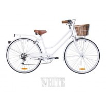 REID LADIES VINTAGE 7 SPEED LITE - WHITE