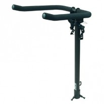 BIKE RACK ZERO TOWBALL  2-BIKE FOAM-ARM BLK