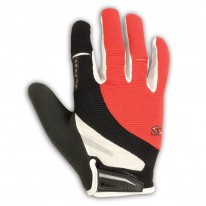 SERFAS GLOVE ZEN FULL FINGER RED/BLACK