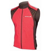 ENDURA VEST WINDCHILL, RED