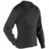 PP THERMALS - ADULT LONG CREW, BLACK