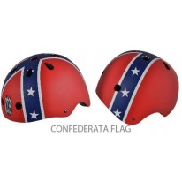 HELMET PULSE X-COOL XC - CONFEDERATE FLAG