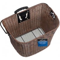 XLC BASKET BROWN WICKER STYLE