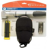 SERFAS COMBO 1 PUMP-BAG-TOOLS-PATCH KIT