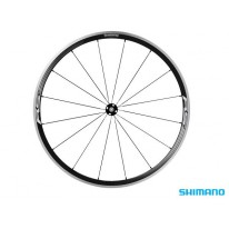 WH-RS330 FRONT WHEEL 700C BLACK CLINCHER