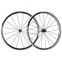 WH-RS330 WHEELSET 700C BLACK CLINCHER