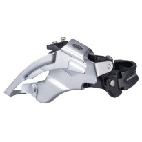 SHIMANO  DEORE M590  3X9 LOW-CLAMP FRONT MECH
