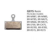 BR-M666 RESIN PAD & SPRING G01S