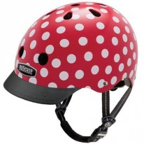 NUTCASE BIKE HELMET MINI DOTS