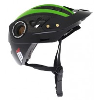 URGE ALL MOUNTAIN HELMET - BLACK & GREEN