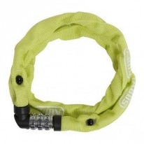 LOCK ABUS CHAIN WEB-1200  600MM COMBO LIME
