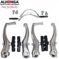 ALHONGA V-BRAKE SET - ALLOY HJ-805AD