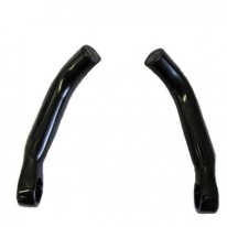 MTB BAR ENDS - SILVER OR BLACK
