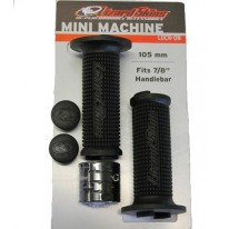 MINI MACHINE FLANGED LOCK-ON GRIPS - LIZARD SKINS