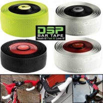 DSP 2.5MM DUAL COLOUR HANDLEBAR TAPE - 4 COLOURS -