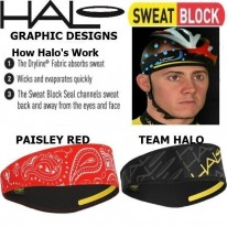 HALO II - PULLOVER HEAD BANDS - 9 COLOURS