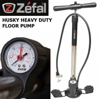 HUSKY HEAVY DUTY HP FLOOR PUMP - ZEFAL