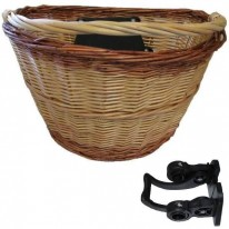 CANE / WICKER BASKET WITH QUICK RELEASE