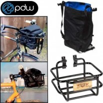 PDW TAKEOUT BASKET WITH WATERPROOF ROLLBAG