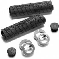 LOGO & SHORTY LOCK-ON HANDLEBAR GRIPS - LIZARD SKI