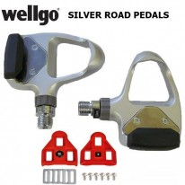 ROAD PEDALS & CLEATS - SILVER CLIPLESS WPD-R3 - WE