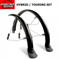 TOURING MUDGUARD SET - 45MM WIDE - PLANET BIKE