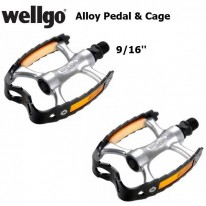CITY ALLOY - ALLOY CAGE PEDAL - 9/16'' - WELLGO
