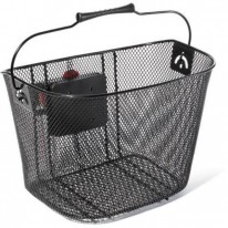 WIRE BASKET WITH QUICK RELEASE BRACKET