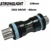 STRONGLIGHT TWISTER INOX ALLOY BOTTOM BRACKET