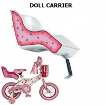 DOLL CARRIER - PLASTIC WHITE