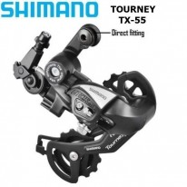 REAR DERAILLIEUR - SHIMANO TOURNEY TX55 - 6 / 7 SP