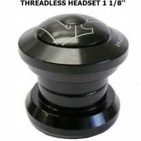 HEADSET - 1 1/8'' AHEAD - BLACK