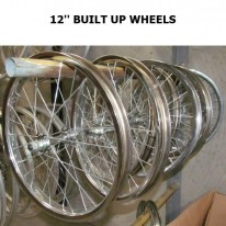12 1/2 X 2 1/4 BUILT-UP WHEELS
