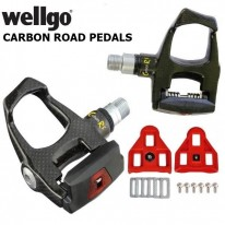 CARBON RS ROAD PEDALS - WELLGO CLIPLESS