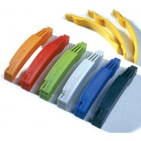 TACX TYRE LEVERS PK OF 3 EA ASSORTED COLOURS