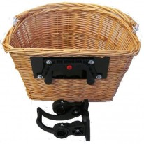 MAMMOTH WICKER BASKET WITH BRACKET CLAMP 26.0 - 31