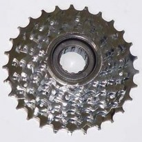 SHIMANO SCREW ON CLUSTERS - 5, 6 AND 7 SPEED
