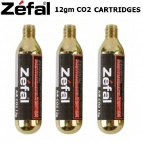 CO2 CARTRIDGES - 12GM, 16GM & 25GM - ZEFAL