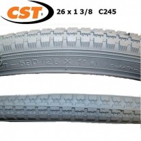 TYRE CST 26X1 3/8 C245 - BLACK OR GREY