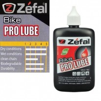 ZEFAL - COUNTER DISPLAY BOX OF BIKE LUBE - WET DRY