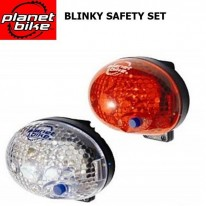BLINKY SAFETY EXTREME LED MICRO LIGHT SET - PLANET