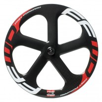 FFWD FIVE-T CARBON TUBULAR WHEEL - BLACK/RED