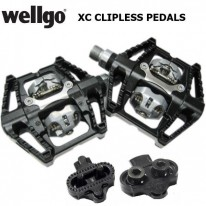 MTB XC/DOWNHILL DOUBLE-SIDED ALLOY CLIPLESS PEDAL
