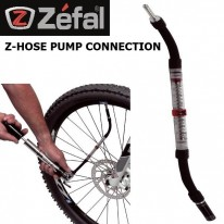 PUMP CONNECTOR WITH PRESSURE GAUGE - ZEFAL Z HOSE