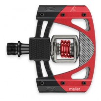 CRANKBROTHERS MALLET 3 PEDALS - BLACK/RED