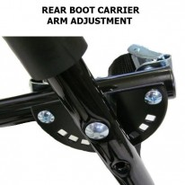 REAR BOOT CARRIERS - CARRIES 2 BIKES - RIBBED & CL