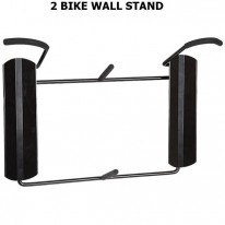 WALL MOUNTED 2 BIKE/ WHEEL STORAGE STAND